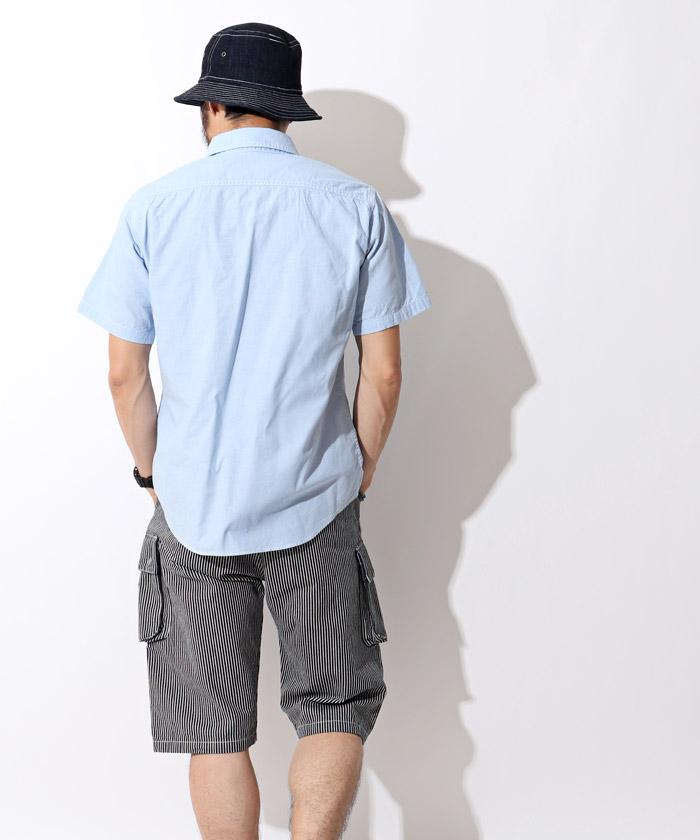 オックスフォードシャツ ブルー