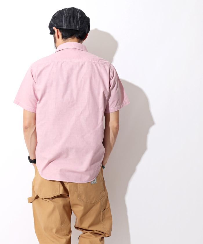 オックスフォードシャツ ピンク