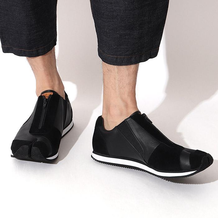 足袋スニーカーブラック