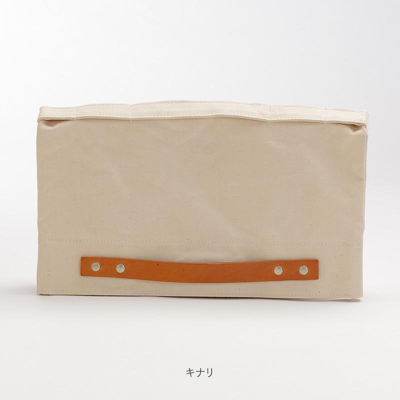 mash[マッシュ] アーミーダック×瀬戸内レザー製 クラッチバッグ