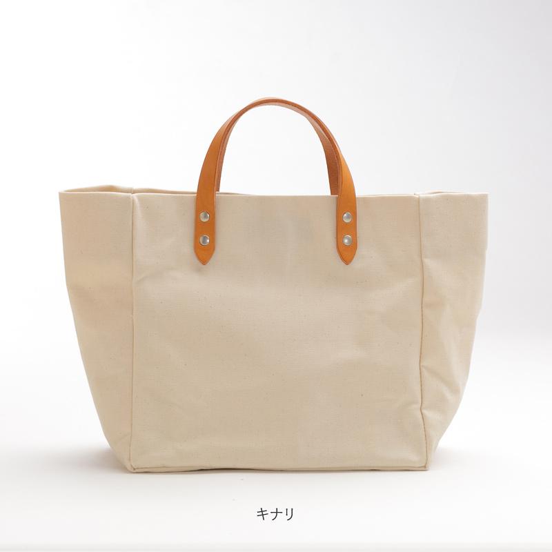 abb[アベベ] アーミーダック×瀬戸内レザー製 女性に便利なトートバッグ