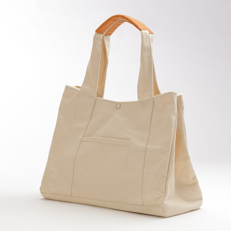 saif[セイフ] アーミーダック×瀬戸内レザー製 家族で使える便利なトートバッグ