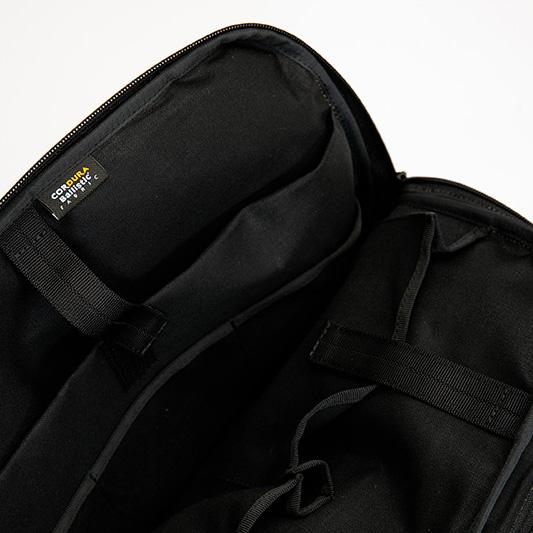 sama[サマ] 防弾チョッキのナイロン製 ブリーフケース