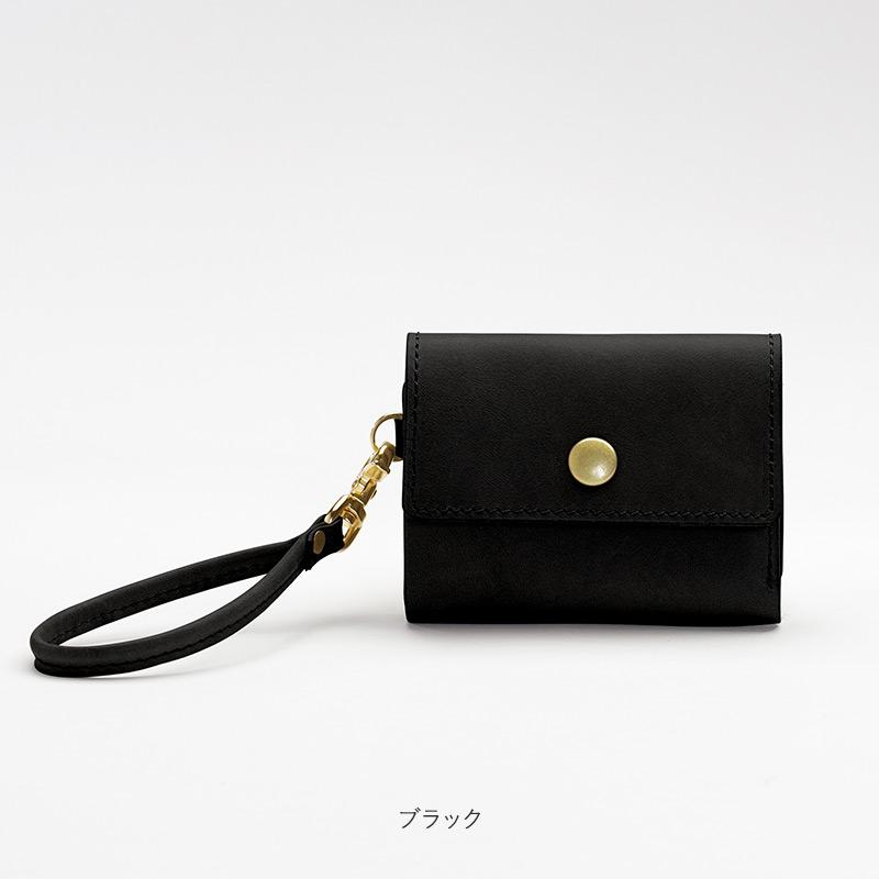 ricchyM[リッチーM] イタリアンレザー製 小さい財布 ※ブラックのみ瀬戸内レザー使用
