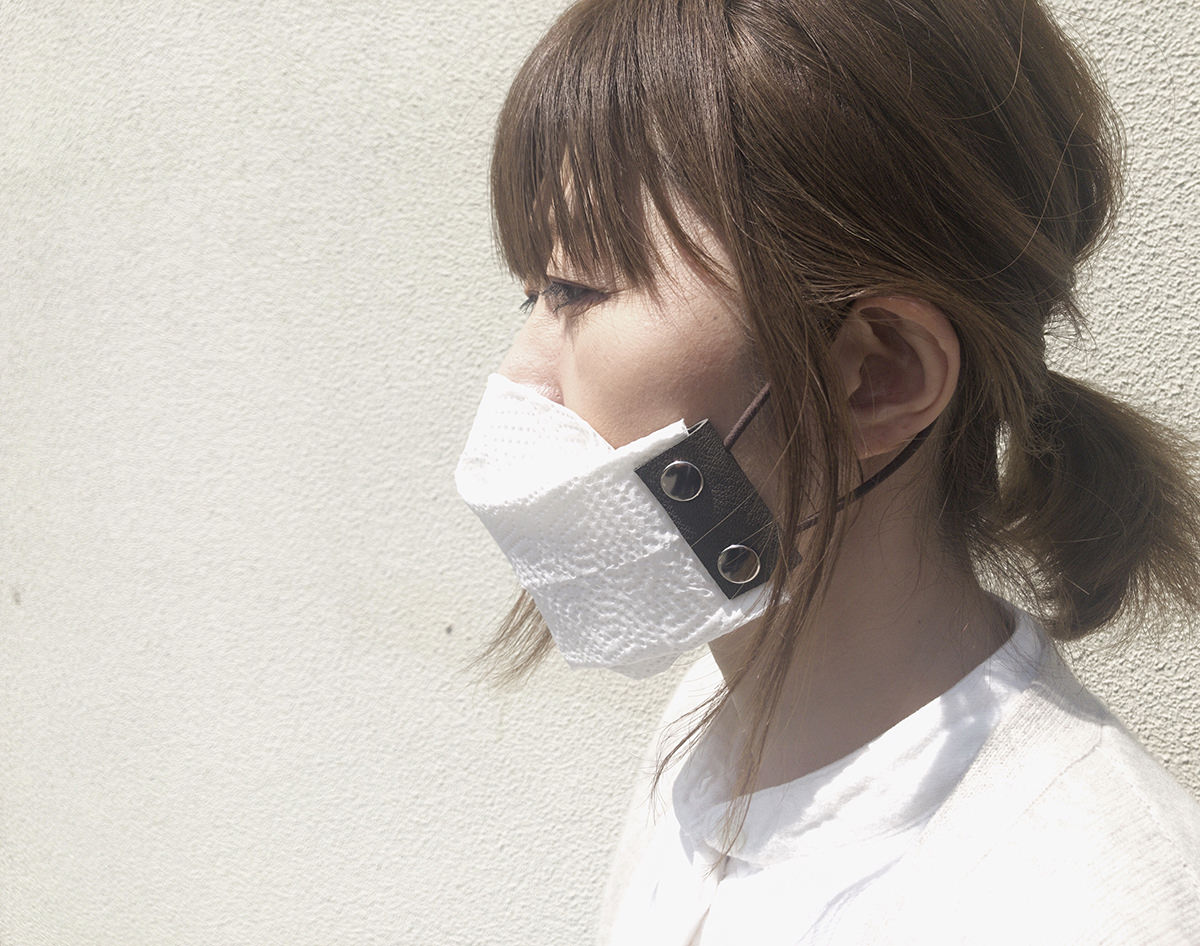 布やキッチンペーパーで手作りマスクを作る 【洗える】マスクホルダーLoops (ループス) ※この商品は2点以上購入で送料無料です。