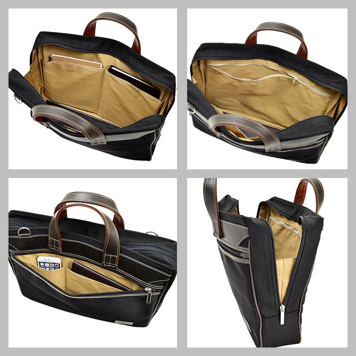 トート ブリーフケース ビジネスバッグ 日本製 豊岡製鞄 メンズ B4ファイル 2way ナイロン KBN26595 フィリップラングレー PHILIPE LANGLET 送料無料