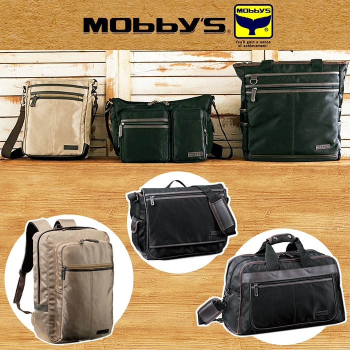 ショルダーバッグ メンズ レディース A4ファイル 軽量 KBN33679 モビーズ MOBBY'S