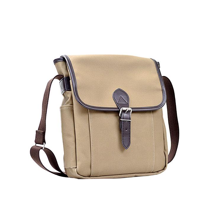 ショルダーバッグ 日本製 豊岡製鞄 メンズ A5ファイル 帆布 PVC アウトドア 旅行 ショッピング 通勤 出張 紺 ベージュ KBN33689 アンディハワード ANDY HAWARD