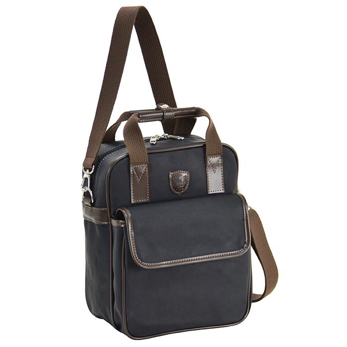 ショルダーバッグ リュックサック 日本製 豊岡製鞄 メンズ A5ファイル 3way 帆布 PVC 旅行 ショッピング 通勤 出張 紺 ベージュ KBN33697 ブレザークラブ BLAZER CLUB