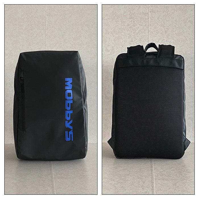 リュック デイパック ビジネスリュック メンズ B4ファイル 2室 通学 通勤 タブレット対応 KBN42573 モビーズ MOBBY'S