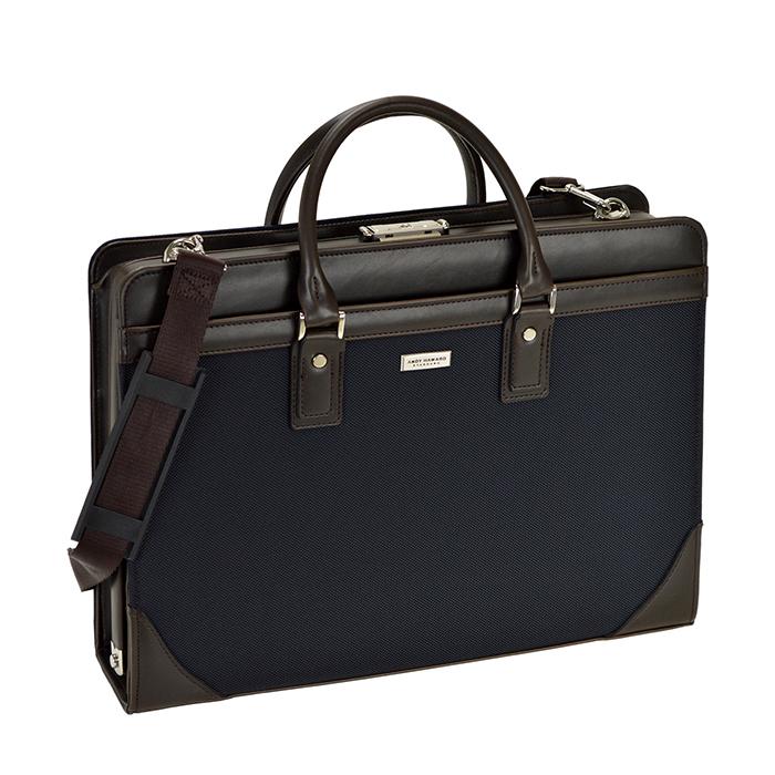 ダレスバッグ ビジネスバッグ 日本製 豊岡製鞄 メンズ B4 鍵付き ショルダー付き KBN22290 アンディハワード ANDY HAWARD 送料無料