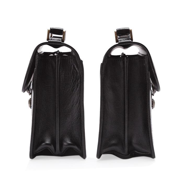 レザーバック セカンドバッグ フォーマルバッグ 日本製 豊岡製鞄 牛革 本革 レザー メンズ A5 フォーマル 街ブラ 旅行 冠婚葬祭 一段錠 黒 チョコ KBN25883 サドル SADDLE 送料無料