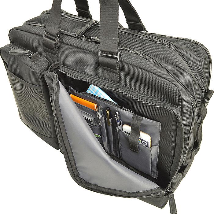 ビジネスバッグ ブリーフケース ガーメントバッグ ガーメントケース 3way メンズ A3ファイルタブレット対応 キャリーバー通し 通勤 出張 黒 KBN26644 グラフィット GRAFIT 送料無料