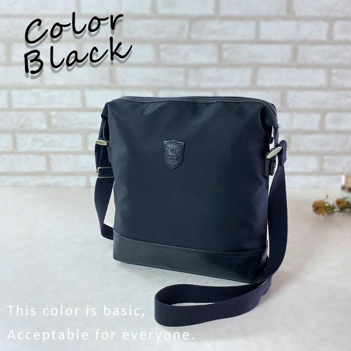 ショルダーバッグ 日本製 豊岡製鞄 メンズ B5 ナイロン 普段使い 街持ち 観光 ショッピング 黒 紺 KBN33757 ブレザークラブ BLAZER CLUB