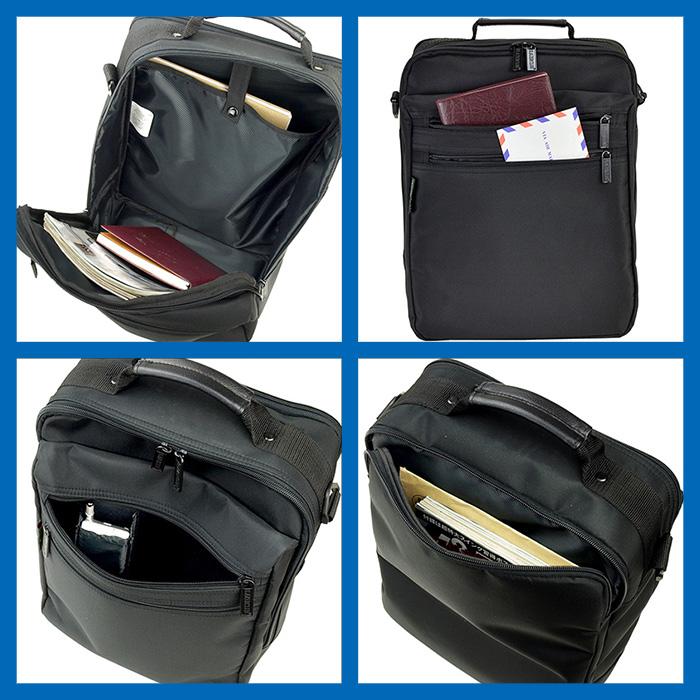 ショルダーバッグ メンズ A4ファイル 2室 縦型 KBN33579 ブレザークラブ BLAZER CLUB