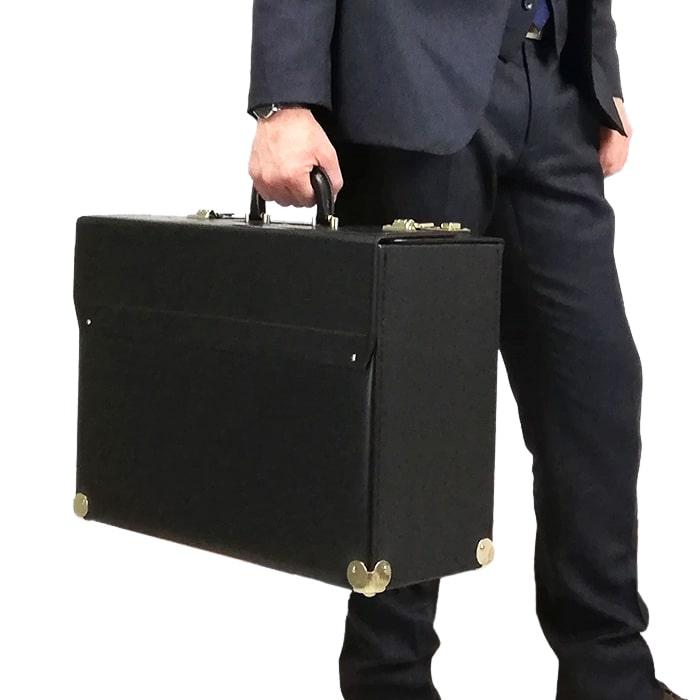 フライトケース パイロットケース アタッシュケース ブリーフケース ビジネスバッグ 日本製 豊岡製鞄 メンズ A3ファイル KBN20038 ジェイシーハミルトン J.C HAMILTON 送料無料