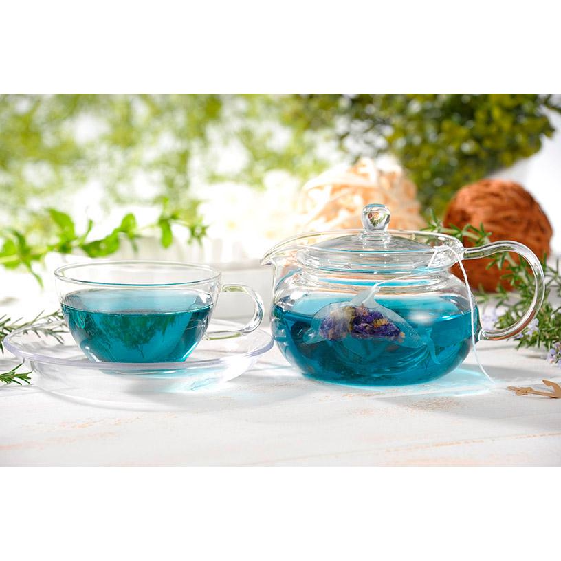 イルカの形のティーバッグ ブルーBOX 煎茶 矢部茶 ハーブティー バタフライピー ギフトボックス プレゼント 青いお茶 天草 松下園