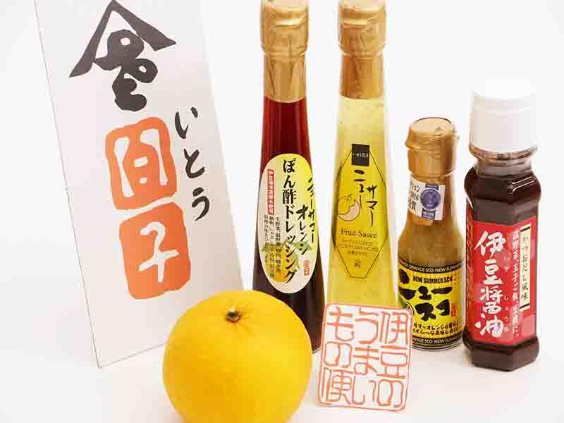 【伊豆の香り便】ニューサマーオレンジ 伊豆のうまいもの便 4点セット