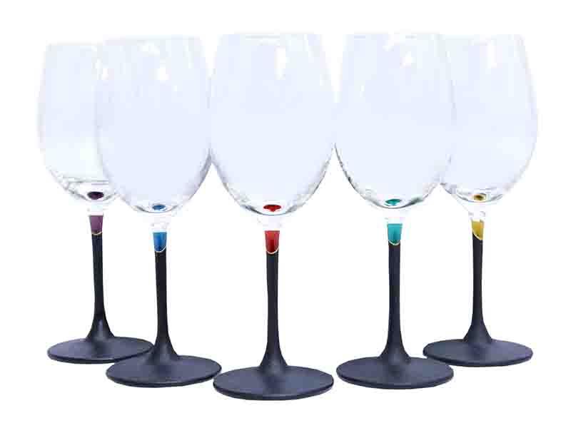 長い伝統を守り新しい文化と融合させた『酒器』ワイングラス 〜カラフルな色漆をまとった美しいグラス〜 外国の方へのギフトにもおすすめ