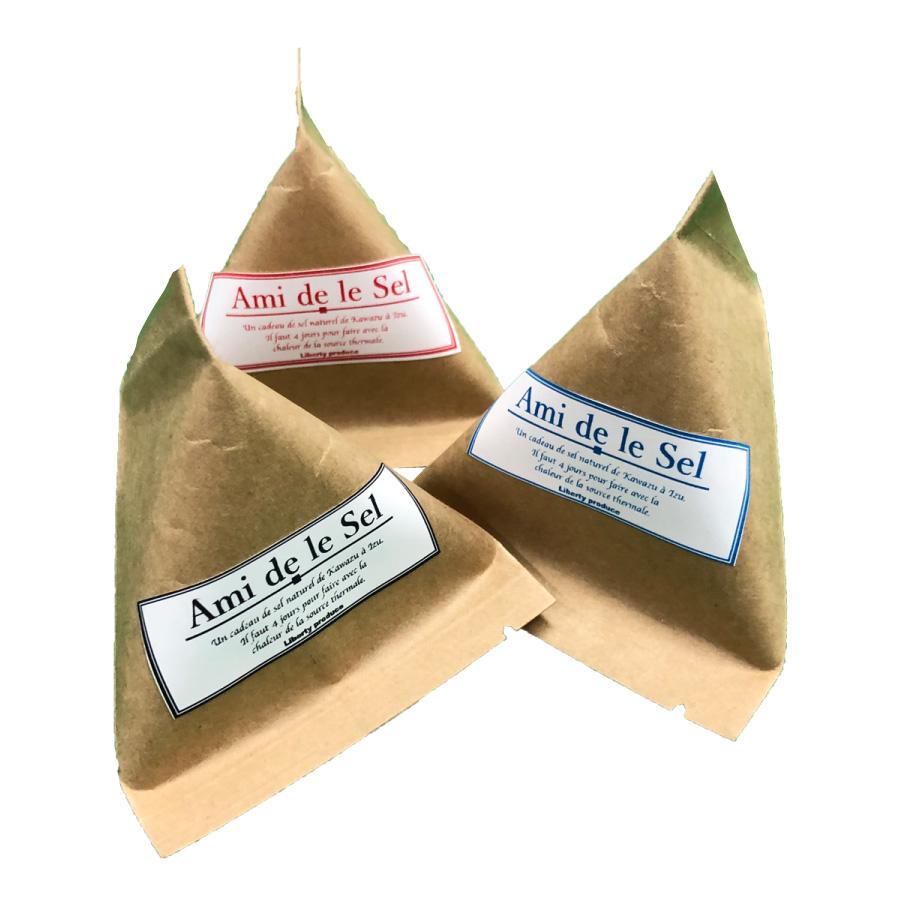 【温泉熱製法】無添加の手作り塩 Ami de le Sel 10g×3箱