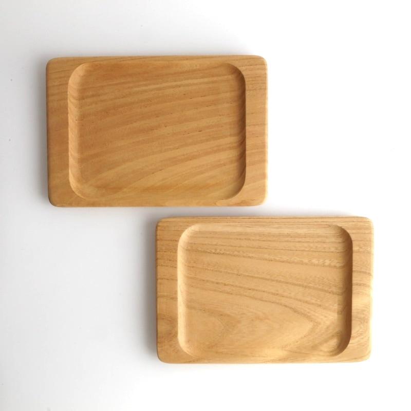 わたなべ木工芸・ケヤキのパン皿