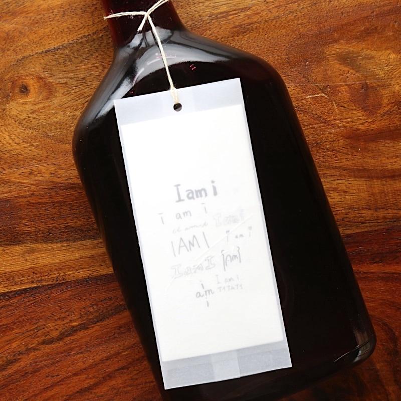 "calm・Hibiscus syrup ""i am i"""