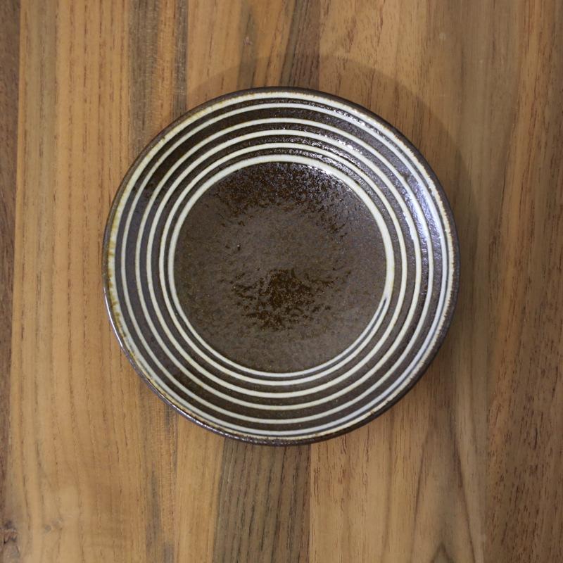 ふもと窯・イッチン5寸皿