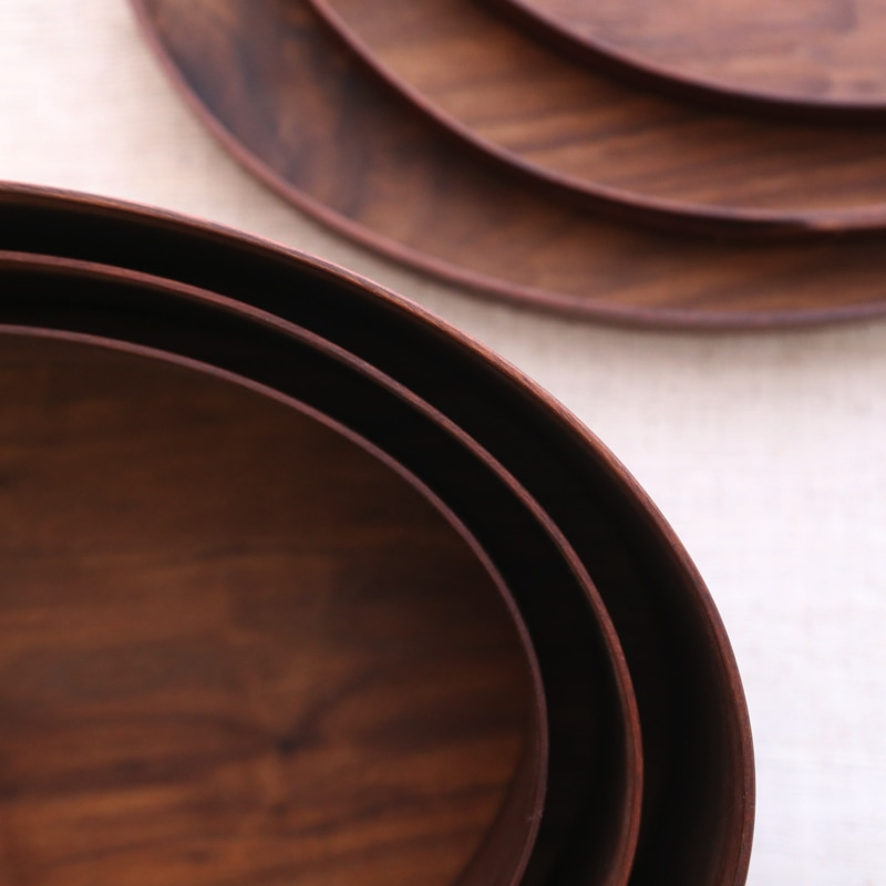 Okalu Oval Box(ウォルナット) M