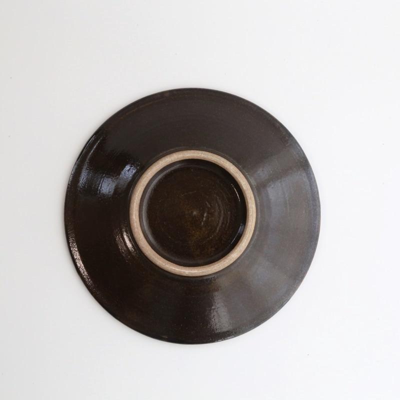 やちむん・丸つなぎ紋6寸皿