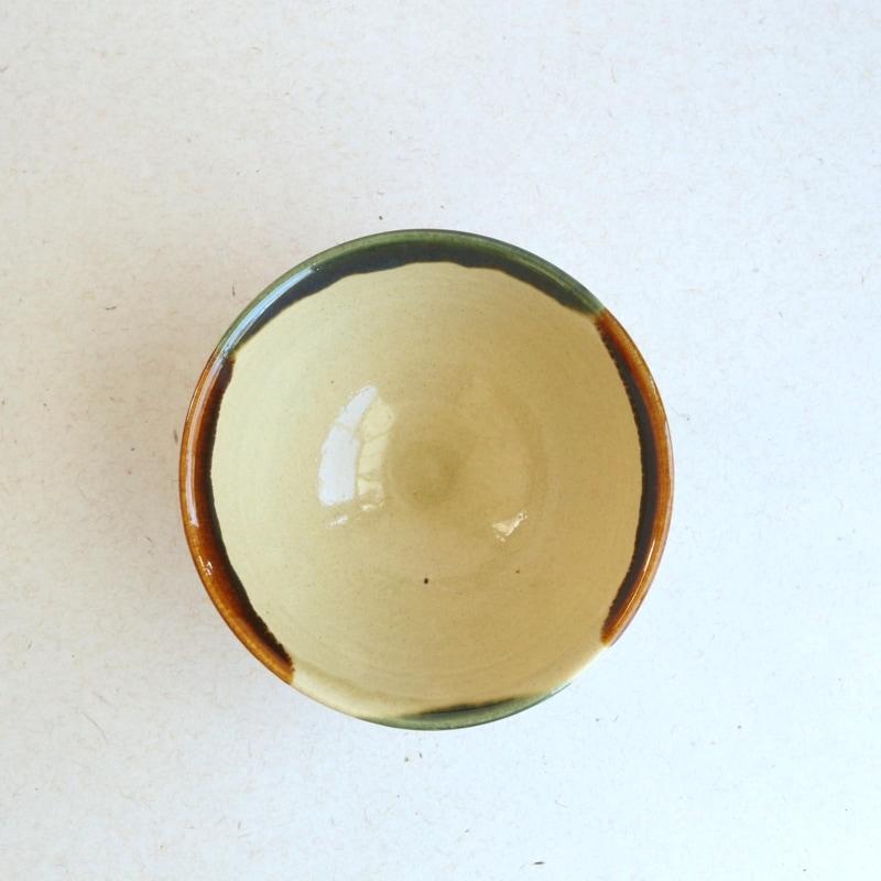 龍門司焼・4.5寸飯碗