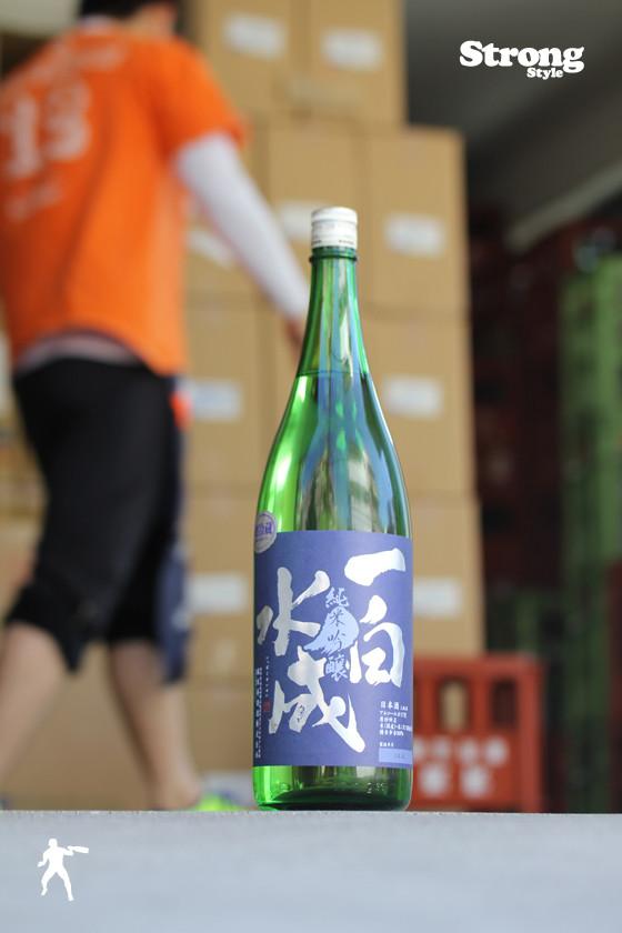 一白水成 純米吟醸 美山錦 火入 1800ml