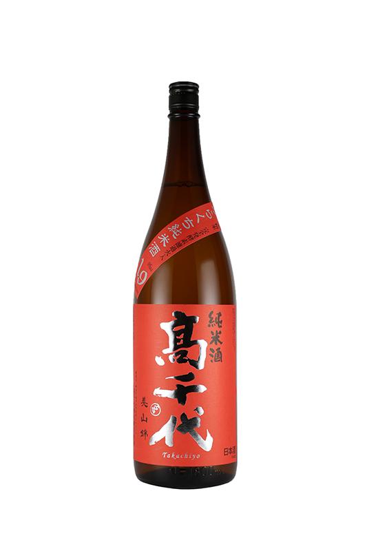 高千代 からくち純米酒 +19 美山錦 1800ml