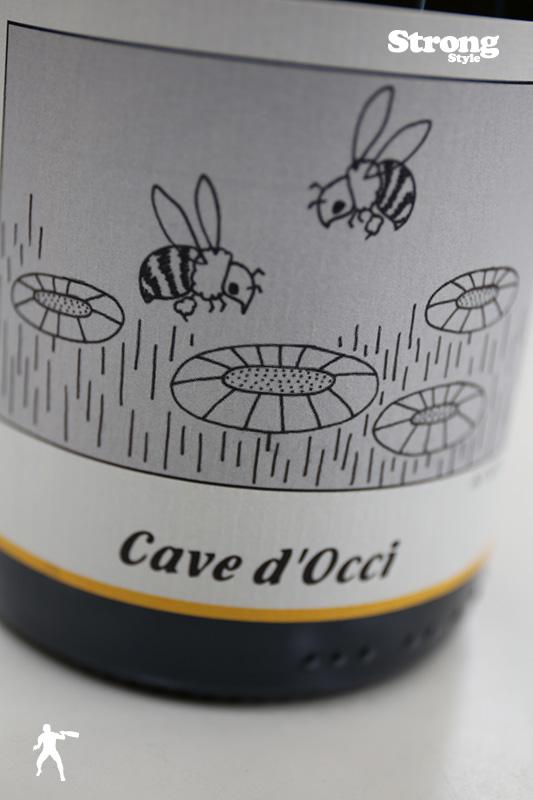 カーブドッチ CAVE D'OCCI みつばち 2015 750ml