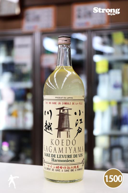 カガタヤ限定100本/秘蔵酒/鏡山 ワイン酵母仕込み純米生 別誂滓酒バトナージュ 1500ml