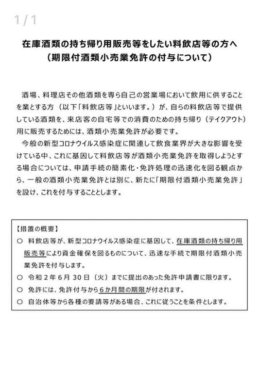 【テイクアウト用】空き瓶 180ml