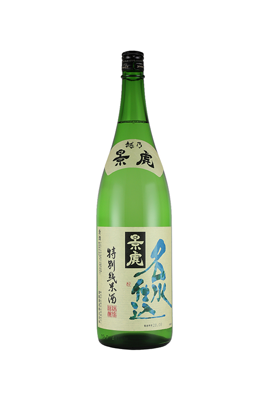 景虎 名水仕込 特別純米酒 1800ml