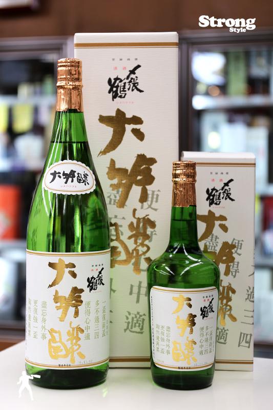 〆張鶴 金ラベル 大吟醸 1800ml