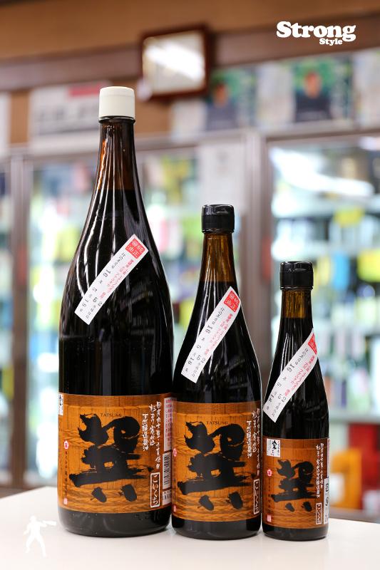 巽醤油(たつみしょうゆ) こいくち 720ml