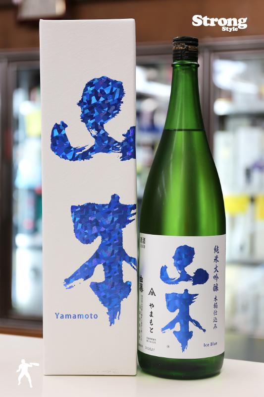 秋田杉木桶仕込/山本 アイスブルー 純米大吟醸 1800ml