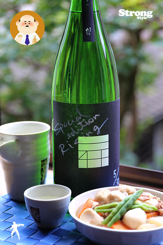 No.01/選べる落昇/直筆30本限定/大正の鶴 RISING Special Edition 1800ml