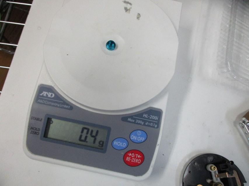 AMO製 汎用ノブキャップ9.1mm 金2個 シマノ アブ 雷魚 カゴ ジギング リール