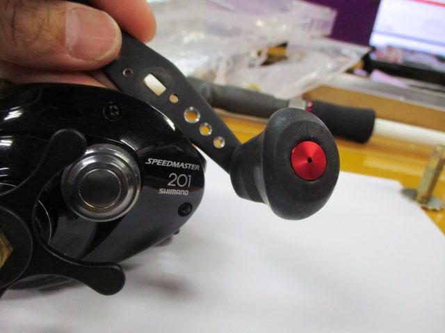 AMO製 汎用ノブキャップ9.1mm 紫1個 シマノ アブ 雷魚 カゴ ジギング リール