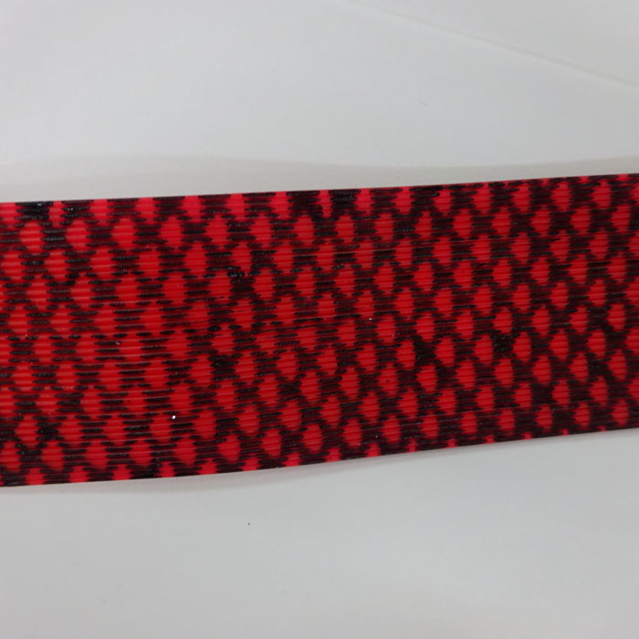 シリコンラバースカート 赤ゼブラ フロッグチューニング 雷魚 ライギョ ラバージグ タイラバ