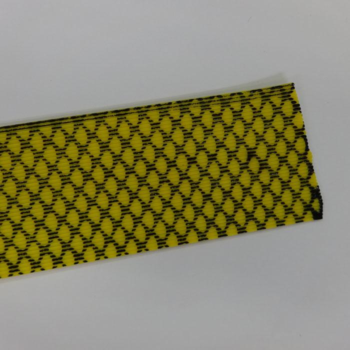 シリコンラバースカート 黄色ゼブラ フロッグチューニング 雷魚 ライギョ ラバージグ タイラバ