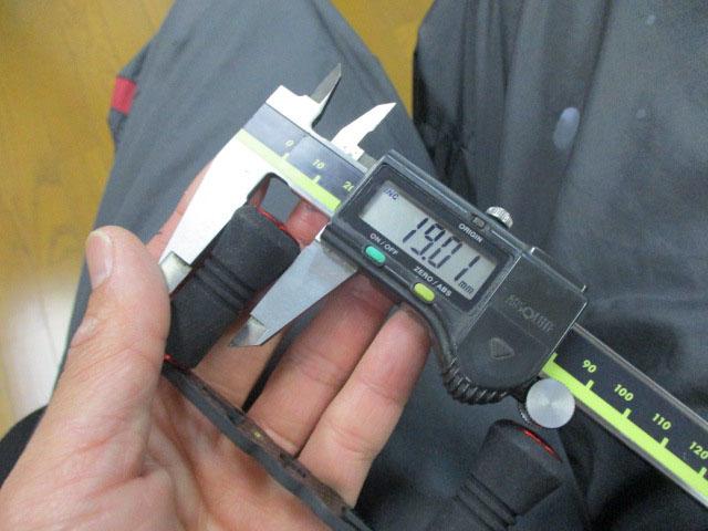 カーボンストレートショート筒エバ 赤80mm アブ ダイワ シマノ M7の場合:アダプタ必要 カスタムパワー ハンドル ナット別売