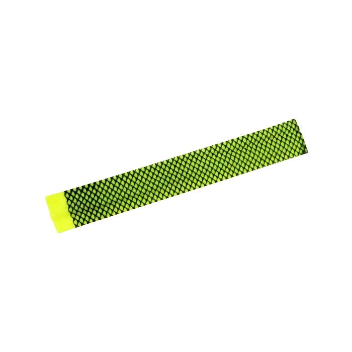 シリコンラバースカート 黄緑ゼブラ フロッグチューニング 雷魚 ライギョ ラバージグ タイラバ