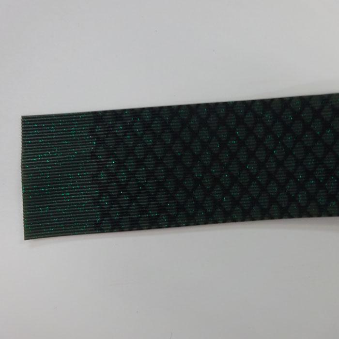 シリコンラバースカート 深緑ゼブラ フロッグチューニング 雷魚 ライギョ ラバージグ タイラバ