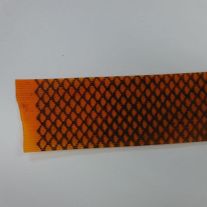 シリコンラバースカート オレンジゼブラ フロッグチューニング 雷魚 ライギョ ラバージグ タイラバ