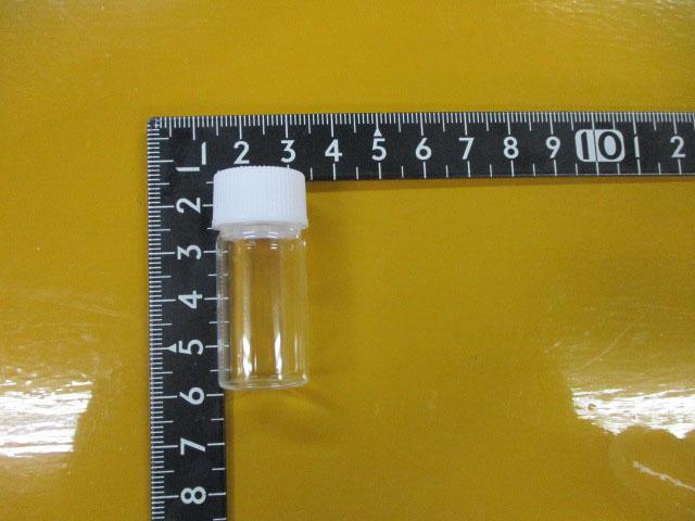 マグオイル 調合用 空容器3個セット 6ml ガラス容器 ラボランスクリュー管瓶 No.2