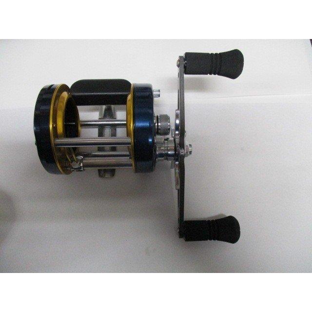 カーボンストレートロングエバ120mm アブ/ダイワ/シマノ M7の場合:アダプタ必要向け ハンドル ナット別売